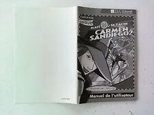 Notice/manuel Mais ou se cache carmen san diego version 2 pour Big box PC FR