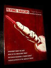 Flying Saucers Magazine December 1969 #67 UFO Aliens Area 51 Palmer Publication