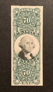 TDStamps: US Revenue Stamps Scott#R143P4 Unused NH NG Proof