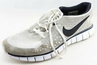 Nike Free Run  Running Shoes Gray Fabric Men 13 Medium (D, M)