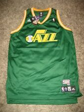 Authentic Blank Swingman throwback UTAH JAZZ jersey BNWT