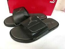 Puma Men's Starcat Tech Slide Sandal - SIZE 10, 11, 12 - BLACK - 0R_22