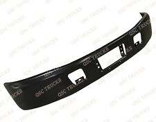 QSC Black Steel Replacement Bumper for 2005 & Up Hino 238 258 268 338