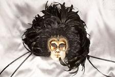 Máscara de pared decorativo veneciano utilizado en el carnaval de Venecia-patio Piuma propriet BL
