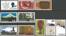 New Zealand 1970-1 PICTORIAL DEFINITIVES (10) Unhinged Mint SG 925-34