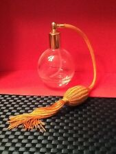 Vintage (?) Glass Perfume Bottle Atomizer With Bulb