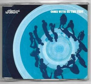 The Chemical Brothers - Come With Us/The Test **2002 Australian CD Single**VGC