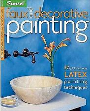 Faux and Decorative Painting (Sunset)-ExLibrary