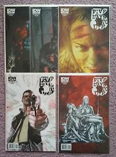 IDW 5 FIVE DAYS TO DIE #1 2 3 4 5 COMPLETE MINI SERIES