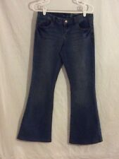 American Rag Flare Jeans, Size 10, Ultra Low Rise, Inseam 29, Denim