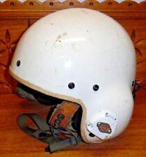 Vintage Sonex Helicopter Pilot Helmet As Seen - Dunrite Tool & Die