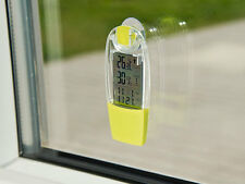 Solar Thermometer mit Hygrometer Wetterstation Temperatur Luftfeuchtigkeit