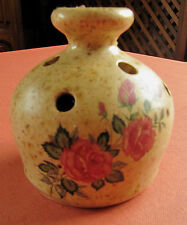 diffuseur pot pourri céramique vallauris décor fleuri moustiers parfum herbe épi
