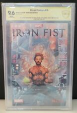 CBCS 9.6 Iron Fist Marvel Premiere #15 Netflix Special Edition Cast SIGNED
