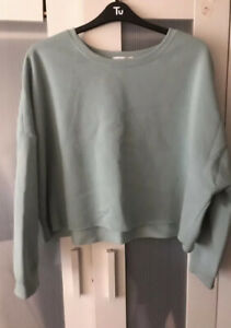 Oversized Cropped Jumper Size 20