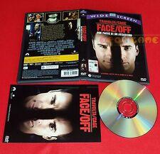 FACE / OFF (John Travolta, Nicolas Cage) Face/Off Dvd 1ª Ed. SIAE Rosa USATO ET