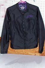 Womens Size Small Harley Davidson Jacket Coat Black Purple 97239-10VW Motorcycle