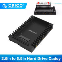 ORICO 2.5In to 3.5In HDD Adapter SATA SSD Hard Disk Drive Caddy Support SATA 3.0
