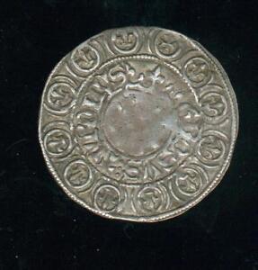 Charles VI Biggus Turonus (Big IN The Lys under / Below One Crown)