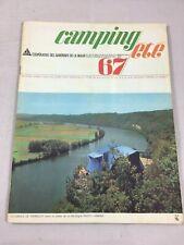 Catalogue vintage coopérative Camif Maaif  Camping été 1967 DS Tente parasols