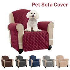 Waterproof Sofa Cover Couch Chair Slipcover Pet Mat Furniture Protector w/ Strap