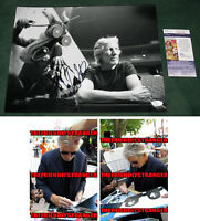 ROGER WATERS signed Autographed 11X14 PHOTO a PROOF -THE WALL Pink Floyd JSA COA