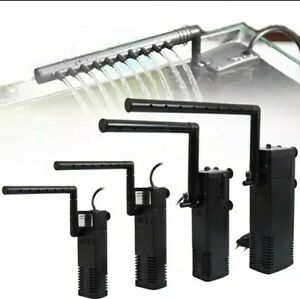 1000l/hr Aquarium Submersible Filter Pump Fish Tank Water Purifier
