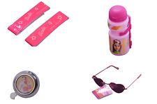 Barbie Ragazze Accessori MOTO Pack Set Bell, bracciali, Occhiali da sole e bottiglia rosa