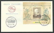 2003 ITALIA FDC CAVALLINO FOGLIETTO ANTONIO MEUCCI - CV2003-2