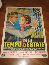 manifesto,TEMPO D'ESTATE,Summer madness/Summertime,VENEZIA,Lean,Brazzi,Hepburn