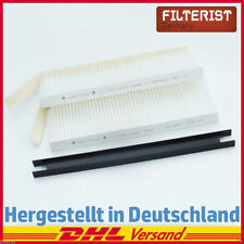 Innenraumfilter Pollen-/Mikrofilter (2er Set) Opel Movano B, Renault Kangoo