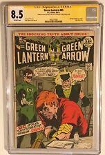 Green Lantern 85 CGC 8.5 SS x3: Neal ADAMS+Denny O'NEIL+Joe GIELLA, DRUGS story!
