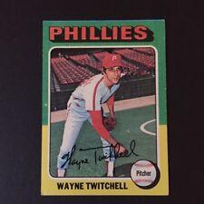 1975 Topps WAYNE TWITCHELL #326  Philadelphia Phillies