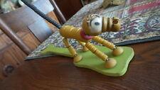 Antique Fisher Price POP-UP WALT DISNEY PLUTO String Toy, Kritter,Wood