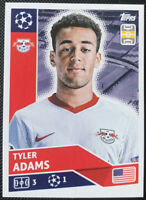 2020/21 Topps Champions League Sticker Tyler Adams RB Leipzig #RBL11 INVEST