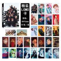 30pcs/set 2018 Kpop NCT127 NCT U JAEHYUN JUNGWOO MARK Poster Photocard Lomo Card