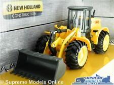 NEW HOLLAND W190C LOADER MODEL EXCAVATOR DIGGER 1:50 SCALE BURAGO CONSTRUCTION K