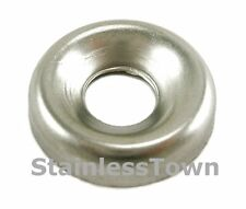 18-8 Stainless Steel Finishing/Cup Washers # 14 or 1/4in  Pack of 100