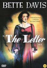 W. Somerset Maugham - The Letter - Bette Davis - Dir: William Wyler (NEW) DVD