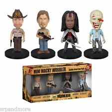 The Walking Dead Mini Bobble Head Box Set-New in Packaging