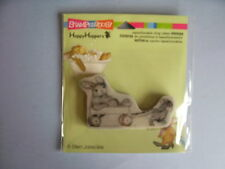HOUSE MOUSE RUBBER STAMPS CLING HAPPY HOPPERS WAGON RIDE STAMP