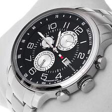 NWT Tommy Hilfiger Men's 1790860 Multi-Function Enamel Sport Watch MSRP $ 165
