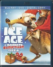 ICE AGE A MAMMOTH CHRISTMAS SPECIAL BLU-RAY/DVD 3 DISC