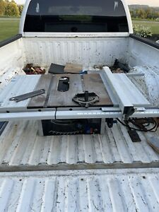 Delta Direct Drive ShopMaster Table Saw Fence Rails from model TS300