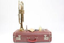 Vintage King H.N White Cleveland Superior Trumpet USA w/ Case & Accessories