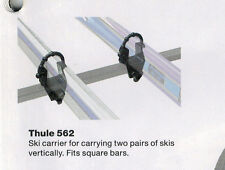 SKI CLIPS hold 2 Pairs of Skies -Suits 30x20 Euro Bar ONLY $15.00 SET -BRAND NEW