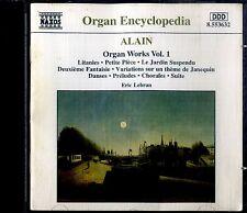 ALAIN Organ Works Vol. 1 CD Ottime Condizioni.