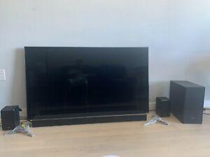 Samsung QN65Q8FN 2160P OLED 4K TV & Dolby Atmos SurroundSound MagnoliaK950 500W