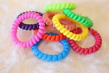 Lady Elastic Rubber Hairband Phone Wire Hair Tie Ring Rope Band Ponytail