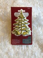 Yankee Candle Scent Plug Base Holiday Winter Tree Electric Fragrance Diffuser
